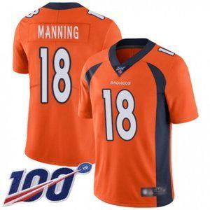 Denver Broncos Peyton Manning 100th Season Jersey